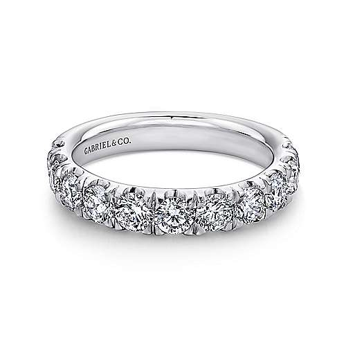 Gabriel - Platinum Contemporary Straight Anniversary Band