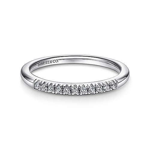 Platinum Contemporary Straight Anniversary Band