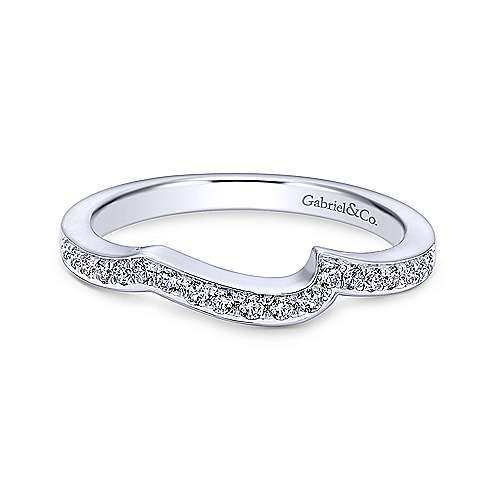 Gabriel - Platinum Contemporary Straight Wedding Band