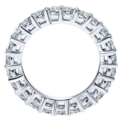 Platinum Eternity Band Anniversary Band angle 2