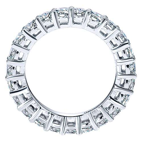 Platinum Shared Prong Eternity Band