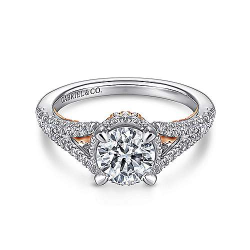 Infinity Collection Eternal Swirl Engagement Rings Gabriel & Co
