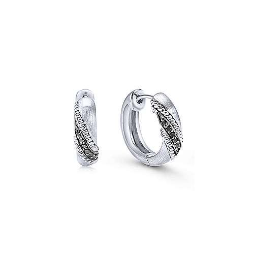 Silver 15MM Fashion Earrings
