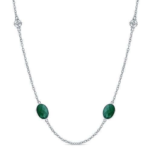 Silver Fashion Necklace