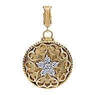 14K Yellow Gold  Fashion Pendant