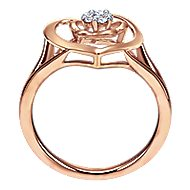 14k Rose Gold Eternal Love Fashion Ladies' Ring
