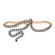 14k Rose Gold Fierce Fashion Ladies' Ring angle 1