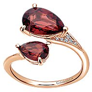 14k Rose Gold Lusso Color Fashion Ladies' Ring