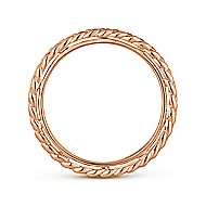 14k Rose Gold Stackable Eternity Stackable Ladies' Ring