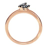 14k Rose Gold Stackable Fashion Ladies' Ring