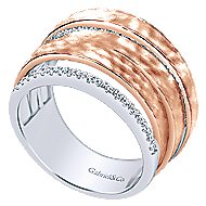 14k White And Rose Gold Souviens Fashion Ladies' Ring