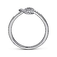 14k White Gold Eternal Love Fashion Ladies' Ring