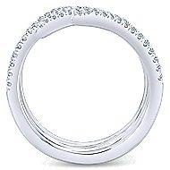 14k White Gold Kaslique Statement Ladies' Ring