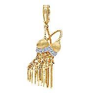 14k Yellow Gold Boca Charms Charm Pendant
