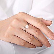 14k Yellow Gold Grace Fashion Ladies' Ring angle 5