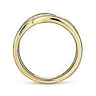 14k Yellow Gold Kaslique Fashion Ladies' Ring