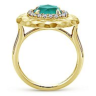14k Yellow Gold Souviens Classic Ladies' Ring