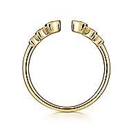 14k Yellow Gold Stackable Ladies' Ring