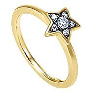 14k Yellow Gold Starlis Fashion Ladies' Ring