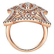 18K Rose Gold  Fashion Ladies' Ring