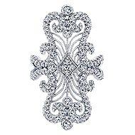 18K White Gold Fashion Ladies' Ring