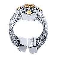 3 Or More Metals Mixed Steel My Heart Fashion Ladies' Ring angle 2