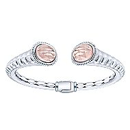925 Silver And Stainless Steel Temptation Bangle angle 1