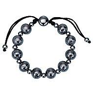 925 Silver Black Plated Mediterranean Beads Bracelet angle 1
