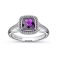 925 Silver Bujukan Fashion Ladies' Ring