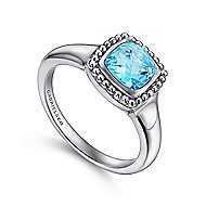 925 Silver Bujukan Fashion Ladies' Ring