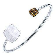 925 Silver Byblos Bangle angle 2
