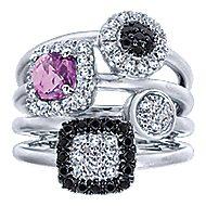 925 Silver Constellations Fashion Ladies' Ring