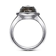 925 Silver Contemporary Classic Ladies' Ring