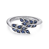 925 Silver Floral Fashion Ladies' Ring