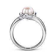 925 Silver Floral Fashion Ladies' Ring