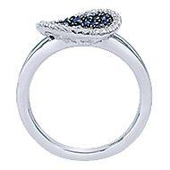 925 Silver M.Clr Ring