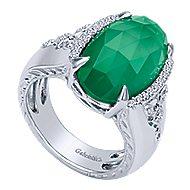 925 Silver Madison Fashion Ladies' Ring angle 3