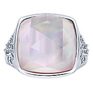 925 Silver Madison Fashion Ladies' Ring angle 4