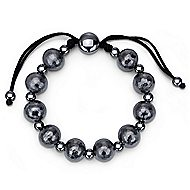 925 Silver Mediterranean Beads Bracelet angle 1