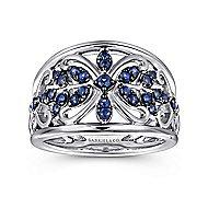 925 Silver Mediterranean Fashion Ladies' Ring angle 5