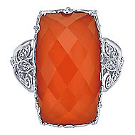 925 Silver Mediterranean Statement Ladies' Ring angle 1