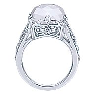 925 Silver Mediterranean Statement Ladies' Ring angle 2