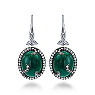 925 Silver Souviens Drop Earrings angle 1