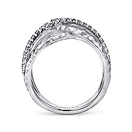 925 Silver Souviens Fashion Ladies' Ring angle 2