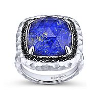 925 Silver Souviens Fashion Ladies' Ring angle 4
