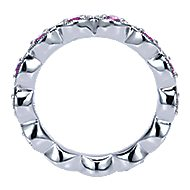 925 Silver Stackable Ladies' Ring angle 2