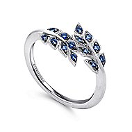 925 Silver Trends Fashion Ladies' Ring angle 3