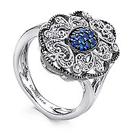 925 Silver Victorian Fashion Ladies' Ring