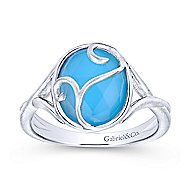 925 Silver Victorian Fashion Ladies' Ring angle 4