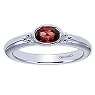 Silver Fashion Ladies' Ring